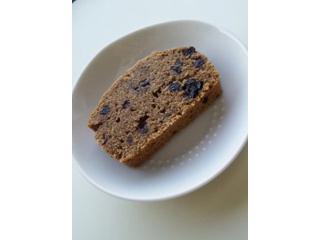 ブルーベリーとキャロブのケーキ