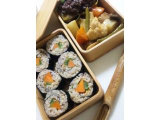 玄米巻き寿司♪りなろび!弁当