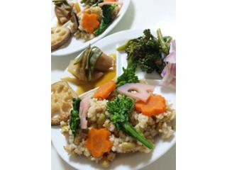玄米五目散らし寿司
