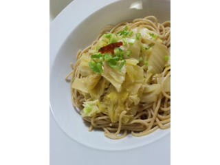 キャベツと白菜のぺペロンチーノ
