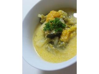 おとふけ豆乳の野菜ポタージュ