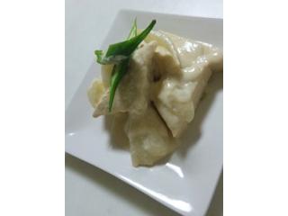 高野豆腐のクリーム煮