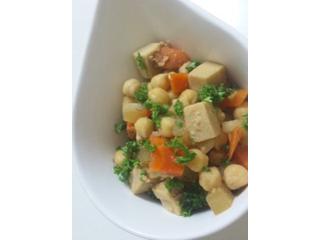 ひよこ豆といろいろ煮