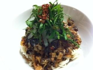 マクロビ風ジャージャー麺