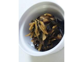 昆布椎茸の佃煮~生姜風味~