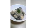 お豆腐とひじきの酒粕煮♪